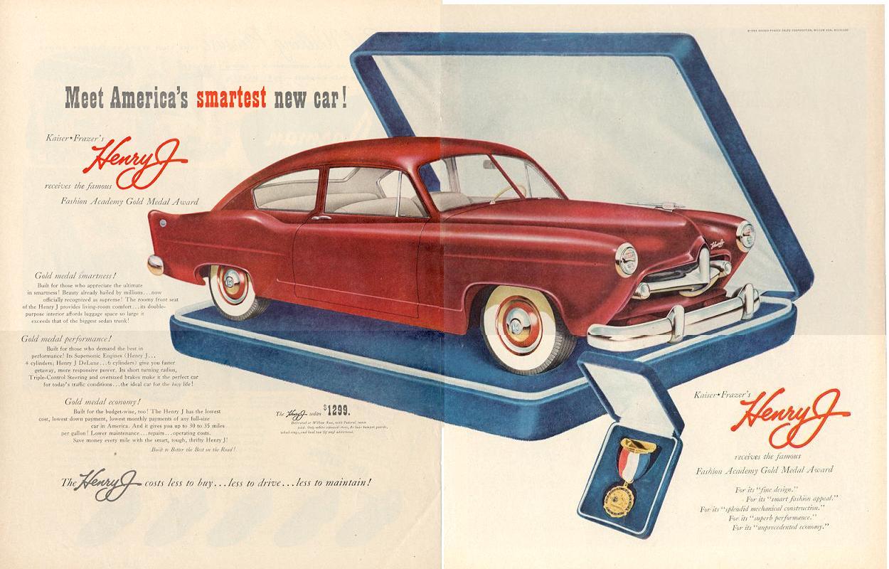 Henry J - Restoration Car History